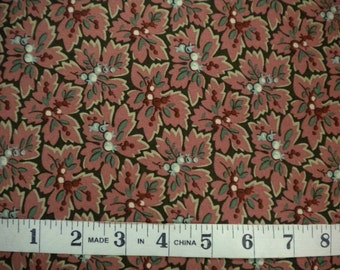1 YD - Home Again (pink leaf) by RJR Fabrics