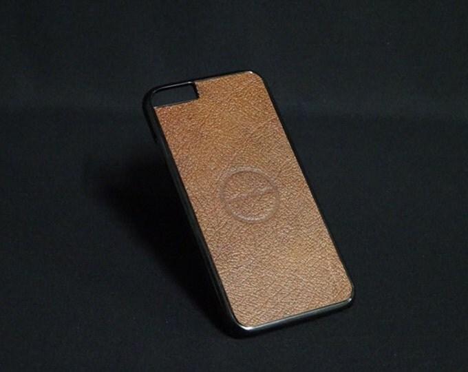 Jimmy Case - Fits Apple iPhone 6 6S - Light Brown - Kangaroo leather - Handmade - James Watson