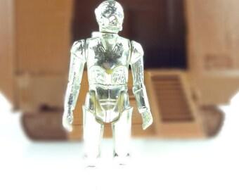 Vintage Star Wars Deathstar Droid Action Figure 1978 LFL