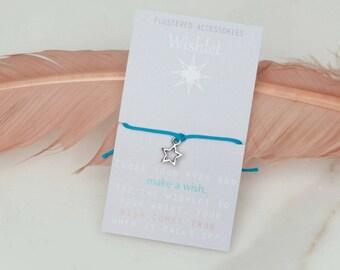 Sale, Wishlet Bracelet, Wish Bracelet, String Bracelet, Star Bracelet, Star Charm,