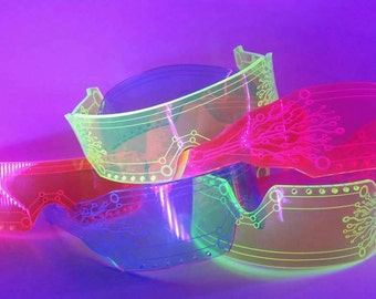 Space Shades Acrylic Fashion Glasses