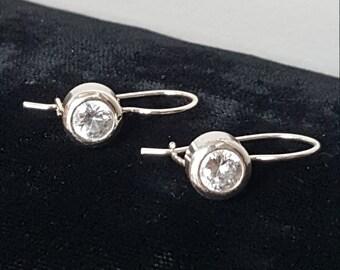 Sterling Silver Pierce Earrings