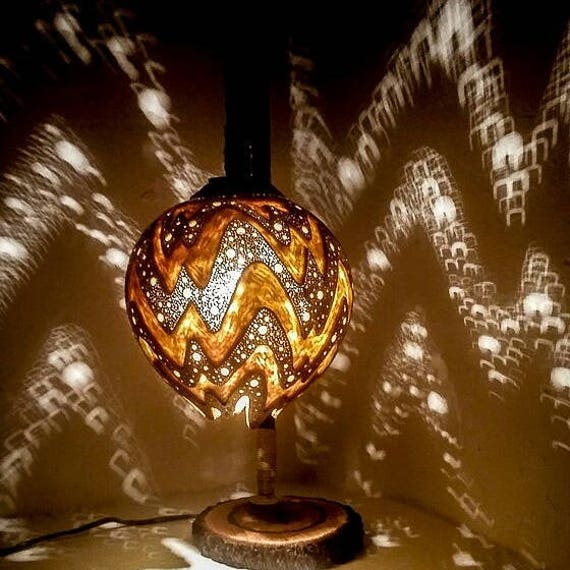 Shadow Lamps 100% handmade gourd lamps handcrafted ottoman decor turkish