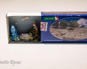 miniature Matchbox Nativity scenes-Nativity in a matchbox