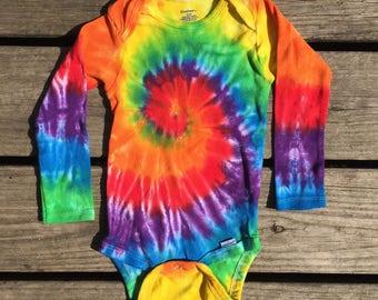 Tie dye onesie 24 month, Onesie - 24m (136)