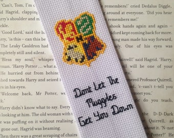 Handmade Hogwarts Crest Bookmark