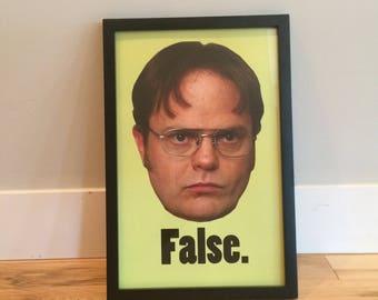 Dwight Schrute - Rainn Wilson - The Office Poster