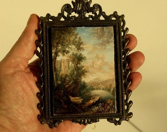 Original ACEO Painting, Landscape Painting, ACEO Masterpiece, Miniature Landscape Painting, Landscape Painting by David Smith