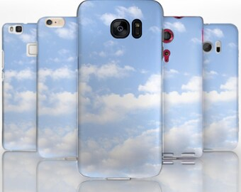 BG0023 Plastic hard case print, personalized/ custom/ personalised phone protective case clouds sky