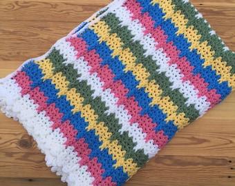 Hand Crocheted Afghan