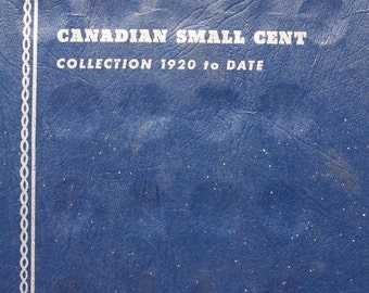 Album  Canada Canadian Small 1c (One) Cent Coin