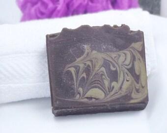 Vanilla Soap - Palm Free Soap - Vegan Soap - Cold Process Soap - Artisan Soap - Homemade Soap - Brown Soap - Coconut Milk Soap - Fancy Soap