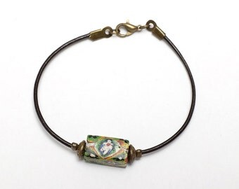Big Sur leather bracelet