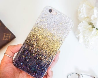 Gold glitter iphone 6 case glitter iphone 6s case glitter iphone 6 plus case glitter iphone 6s plus case glitter iphone 5 case glitter