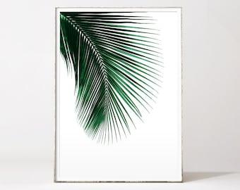 Palm leaf, palm print, palm leaf print, leaf print, palm leaf art, botanical print, palm leaves, botanical art, palm leaf poster, palms