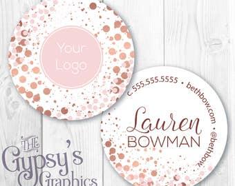 Custom Business Cards, Confetti Rose, Circular Calling Cards, Direct Marketing Cards,Direct Marketing,Calling Cards,Business Material