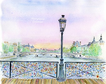 Paris - Love Lock Bridge