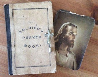 Antique Civil War Era Soldier's Prayer Book