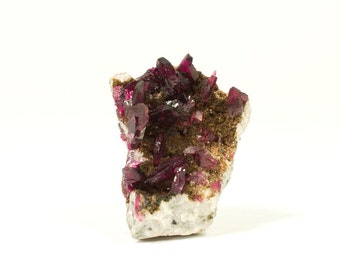 Rare Roselite specimen  -  Bou Azzer mine Morocco  -  Higher Heart Chakra