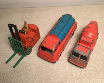 Vintage Collectible Toys Matchbox Hubley Dinky Miniature Trucks