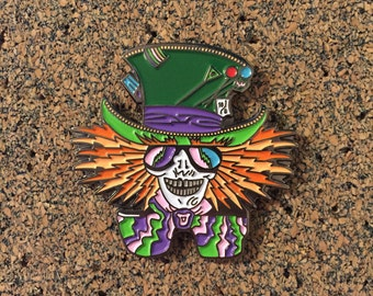 Grateful Dead Mad Hatter Hat Pin