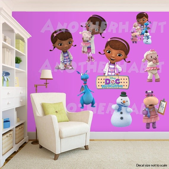 doc mcstuffins wall decal room decor doc mcstuffins bedroom decor certainly one of the best