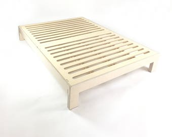 Dreampop Birch Plywood Bed / Queen Size Platform Bed base / Single Double King Kids Toddler Baby  /   / Gift   Melbourne, Australia