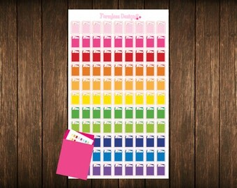 Order Mailer Planner Stickers Erin Condren Sticker, Happy Planner Stickers, Plum Paper Planner Stickers, Order Mailer Stickers
