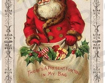 Country Farm Christmas Gift Tags Digital Rustic Christmas Printable Postcard Gift Labels Holiday Gift Tags Vintage Postcard Style Prim