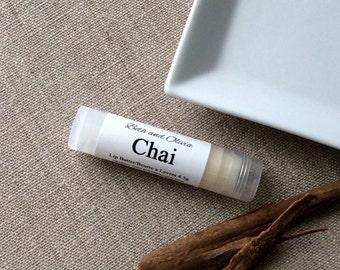 Chai lip butter, Chai lip balm, lip balm favors, lip balms, chai tea lip balm, wholesale lip balms, bulk lip balms, gifts under 10