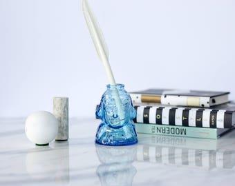 George Washington Tiny Glass Vase