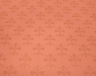 Vintage Wallpaper Salmon Spades
