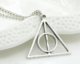 50% off ANNIVERSARY! Deathly Hallows Necklace Harry Potter Deathly Hallows Necklace