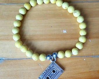 armband elastisch frau mann teen mode mdchen jungen kinder dreizehn grnde warum band gelb charme liebe geschenk geschenk oval juwel juwel - Liegen Serpantes