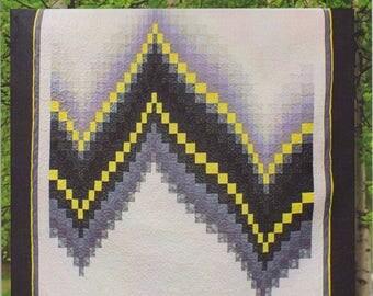 No Measure Bargello Pattern by Cozy Quilt Designs