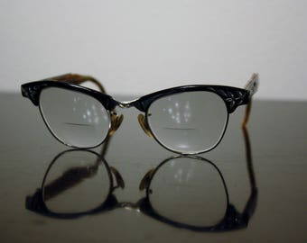 Cat-Eye Frame Prescription Glasses, Vintage Mad Men Retro Glasses