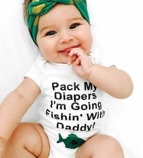 Funny fishing onesie baby boy onesie baby girl onesie baby for Fish onesie for adults