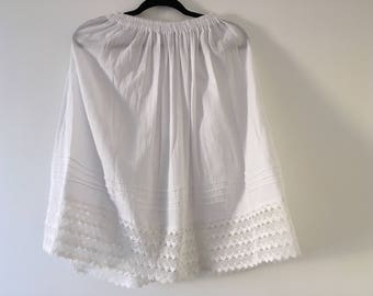 Mexican white Skirt