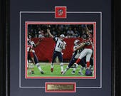 Tom Brady New England Patriots Superbowl LI 8x10 frame