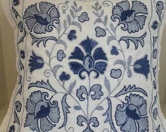 Suzani handmade pillow, pillowcase,pillow cover from Uzbekistan