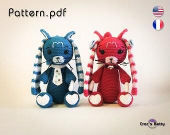 Pattern - Meo & Mia the Lapcats