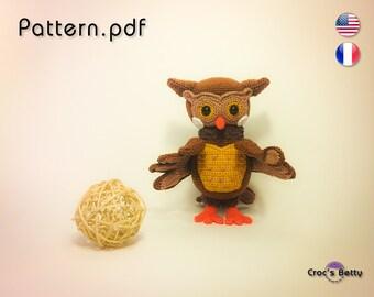 Pattern - Henri the Owl