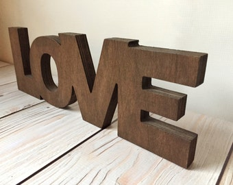 Rustic Sign - Love Sign - Rustic Home Decor - Rustic Wedding Decor - Wood Signs - Rustic Wall Decor - Rustic Wood Signs - Love Decor - Signs