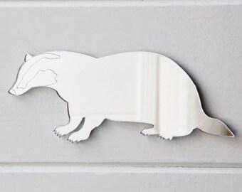 Badger Engraved Acrylic Mirror