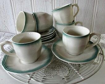 Vitramik Demitasse Coffee Set