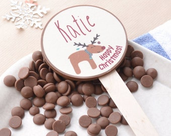 Personalised Christmas Chocolate Gift | Personalised Gift | Christmas Teacher Gift | Milk Chocolate | Secret Santa | Stocking Filler