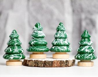 Miniature Christmas Trees - Tiny Trees - Custom Colours