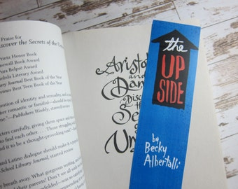 The UPSIDE OF UNREQUITED Bookmark Becky Albertalli / Bookish Gifts / Simon vs the Homosapien Agend