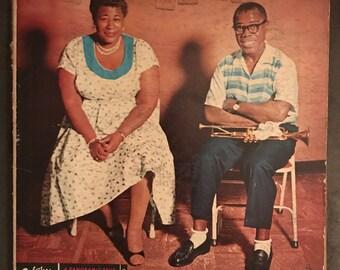 "Ella Fitzgerald/Louis Armstrong LP notebook (8.5"" x 11"")"
