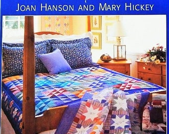 "Quilting Book - ""The Simple Joys of Quilting"" - 30 Timeless Quilt Projects - By Joan Hanson and Mary Hickey"